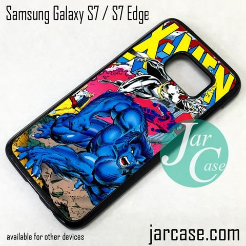 X Men Comic Cover 2 Phone Case for Samsung Galaxy S7 & S7 Edge