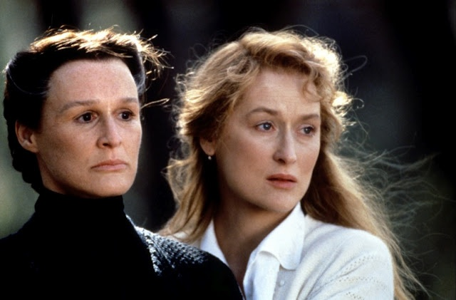 Streep and Glenn Close in 'The House of the Spirits' (1993).