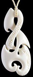 Maori Bone Carving Twist