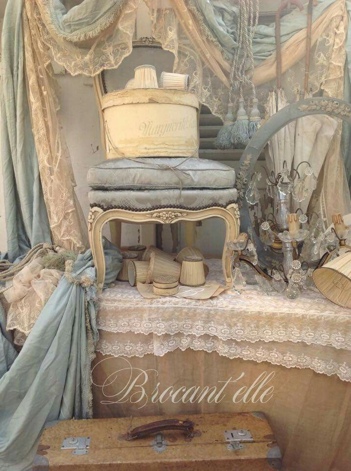 love the soft blue and ivory                                                                                                                                                     More
