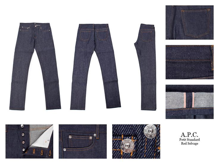 Petit New Standard Skinny-fit Dry Selvedge Denim Jeans A.P.C.