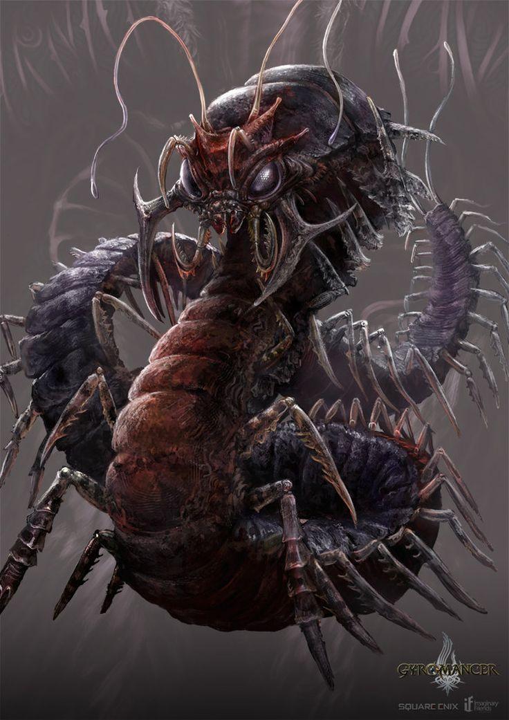 giant_centipede___gyromancer_by_kunkka-d3e96g7.jpg (751×1063 ...