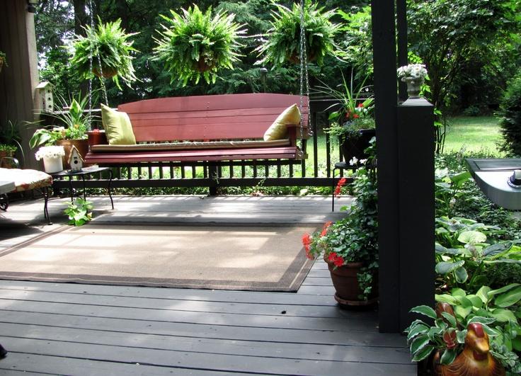 More porch!