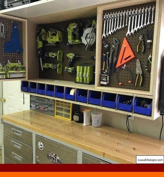How To Organize Your Tools With Pvc Garage Storage Ideas