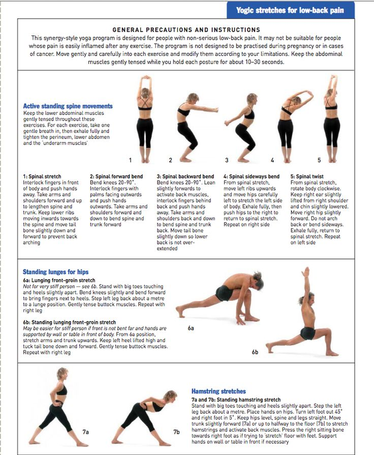 Yoga for Low-Back Pain: Complementary Medicine Journal Article