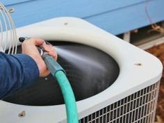 While these steps will help to keep your AC system in top shape, be aware that there are maintenance items that only a trained HVAC technician will be able to do... The bottom line? While some AC maintenance can be done by a savvy homeowner, it's still necessary to have an expert technician check the system periodically.