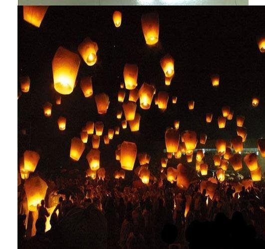 Sky Lanterns Wedding: 23 Best Unique And Memorable Funeral Ideas Images On