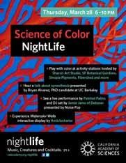 California Academy of Sciences Nightlife