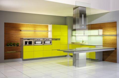 Kuchyně Cristallo - lakované sklo