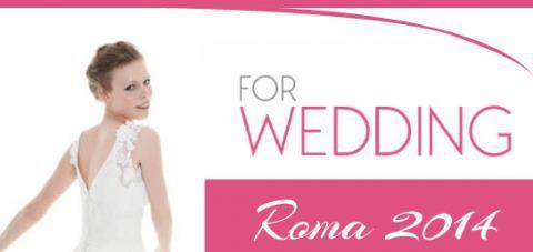 Vi aspettiamo dal 23 al 26 ottobre presso la Nuova Fiera di Roma. Le Spose di Cinzia Ferri presenteranno in anteprima la nuova collezione di abiti da sposa!