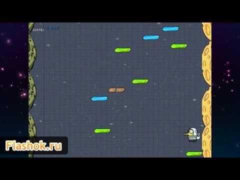 Играть бесплатно в онлайн игру Doodle Jump Space. Дудл Джамп космос - http://flashok.ru/igrat-online/4662-dudl-dzhamp-kosmos/    На этот раз действия игры происходят в космосе и задача как всегда простая - надо прыгать вверх и набрать как можно больше очков. Не забывайте про монстров, которые могут попадаться на вашем пути - отстреливайте их.