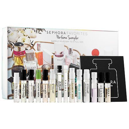 Shop Perfume Sampler by Sephora Favorites at Sephora. This set of 14 samples includes a voucher for a free full-size of your favorite.