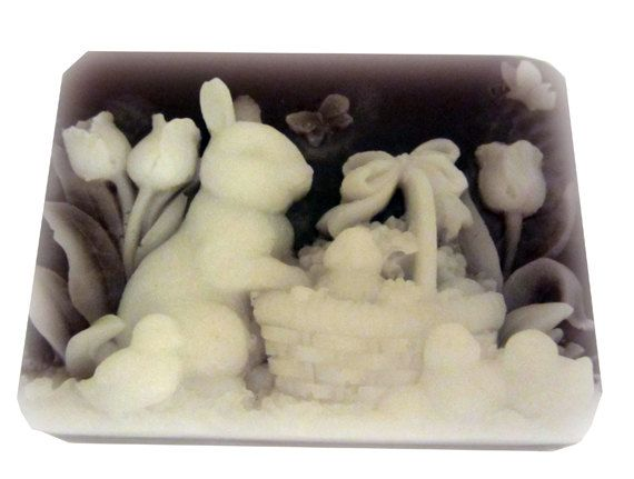 879 best handmade holiday soaps images on pinterest soap autumn easter soap scented easter lily easter bunny soap makes great spring bathroom decor negle Choice Image