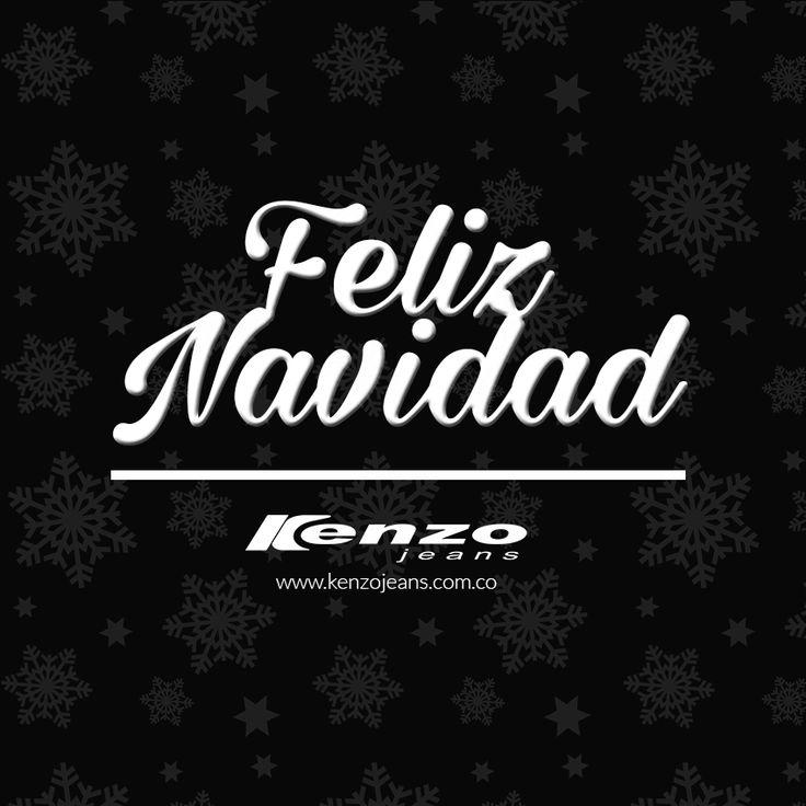 #KenzoJeans les desea una feliz #navidad y un próspero 2016. www.kenzojeans.com.co