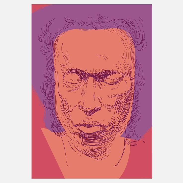 Miles davis, Trumpet player, Composer #sir_miles_davis  #montreuxjazzfestival #jazzmaster #illustration