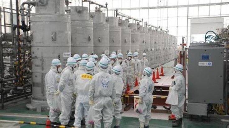 """L'exploitant de la centrale nucléaire japonaise Fukushima, l'entreprise Tepco, va déverser l'eau contaminée par du tritium, un isotope radioactif de l'hydrogène, dans l'océan Pacifique, rapportent vendredi différents médias japonais.  """"La décision a..."""