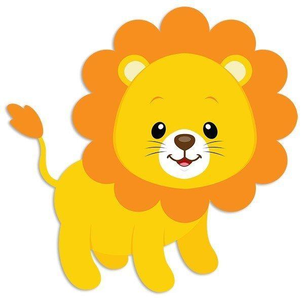 Vinilos Infantiles Leon Tom 3 Safari Birthday Safari Baby Animals Animal Cutouts
