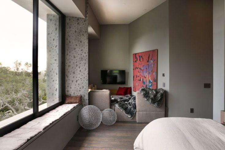 Conrad Pebble beach, Beach resorts and Studio design - capri suite moderne einrichtung