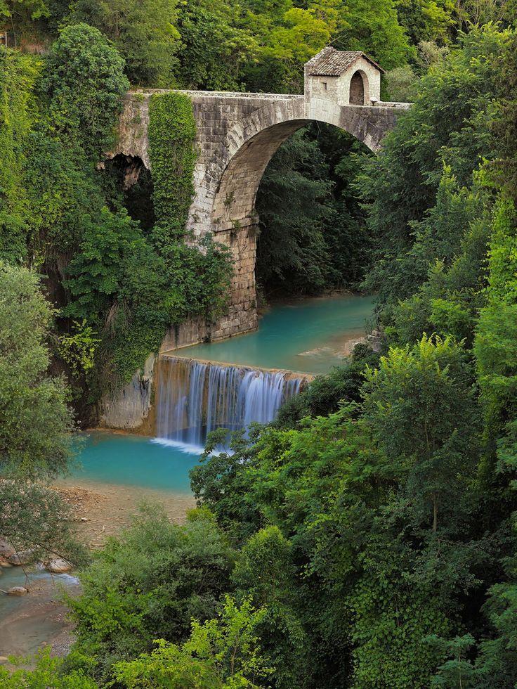 Cecco bridge (Ascoli Piceno) by MaxShutterSpeed on 500px