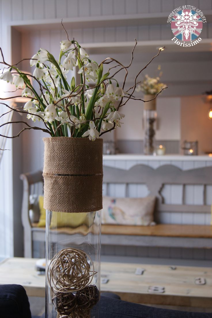 Snowflakes | Florissimo, Shropshire - Flowers for weddings, events and businesses. British-grown snowflakes Jan-Feb