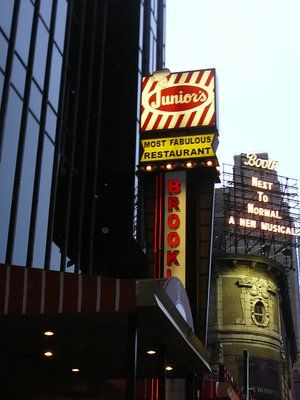Junior's Cheesecake Restaurant ~ Times Square, NYC