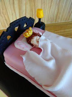 TORTY AŚKI M: Tort dla śpiącej królewny :)