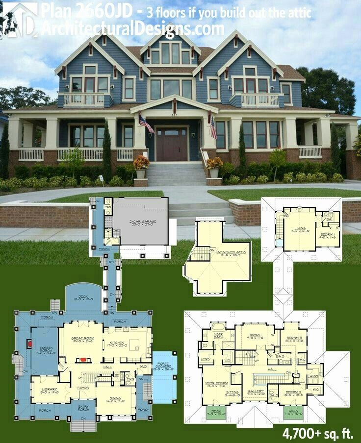 20 Design Your Dream House Game 2018 Luxury House Plans House Plans Garage House Plans