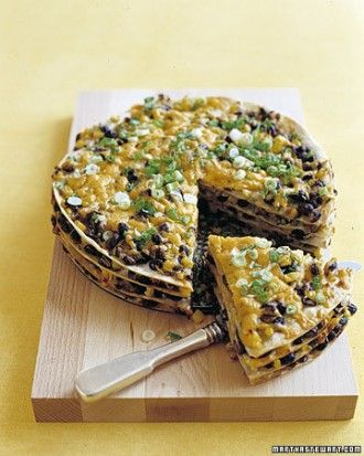"See the ""Tortilla and Black Bean Pie "" in our 10 Most-Pinned Mexican Recipes gallery"