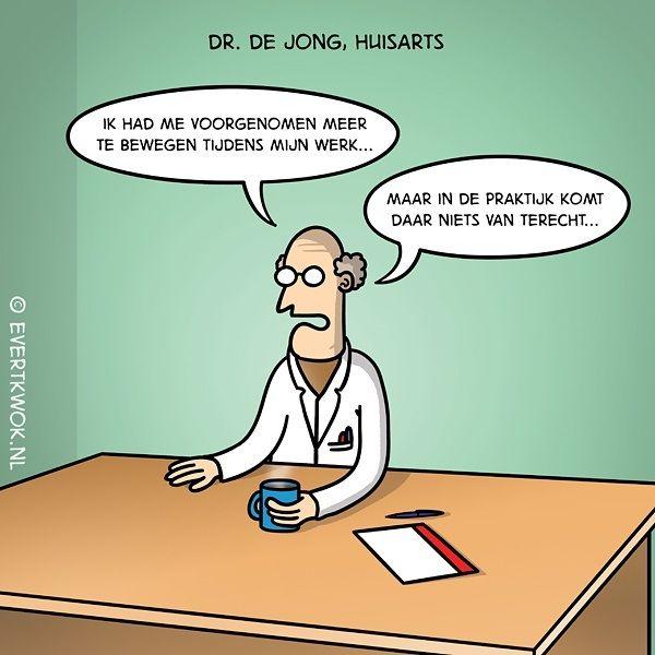 Dr. de Jong. #cartoon