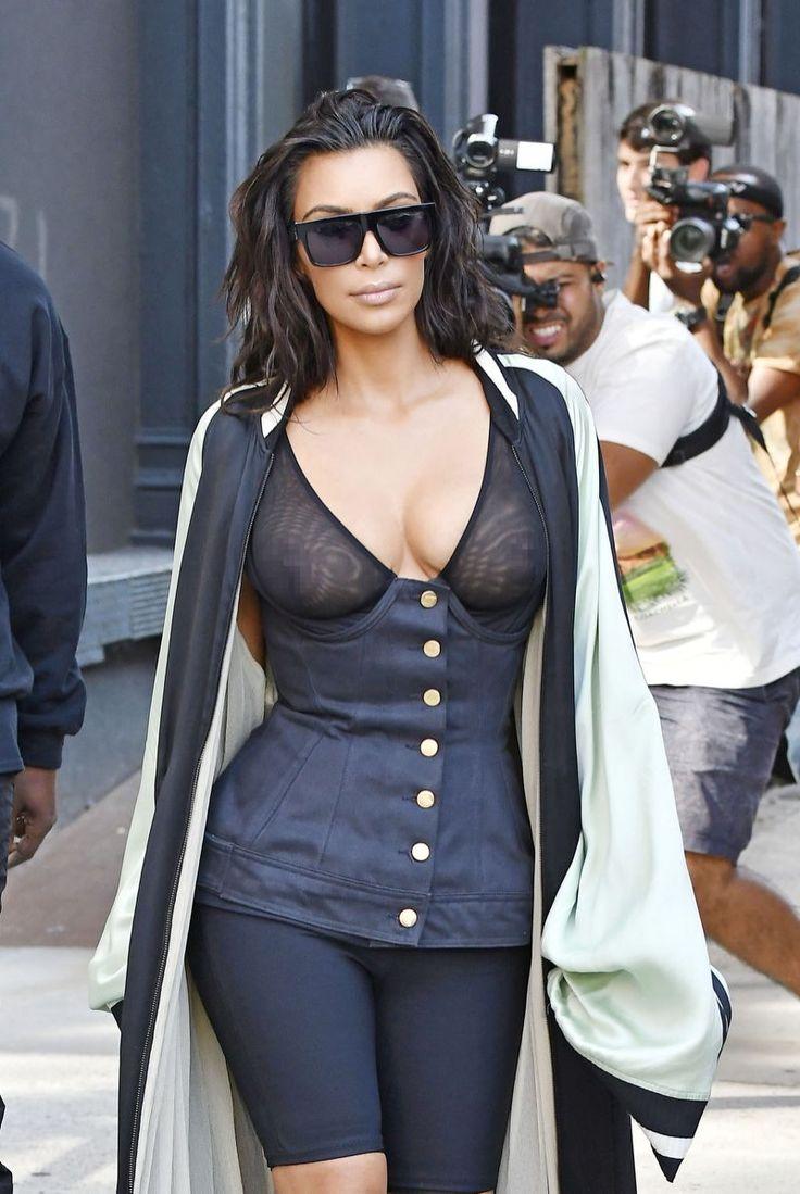 Kim Kardashians Bra Designer Talks About Wearing Blazers -8413