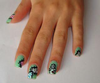 Crissie's Mind: Halloween: Voodoo Nails 2013