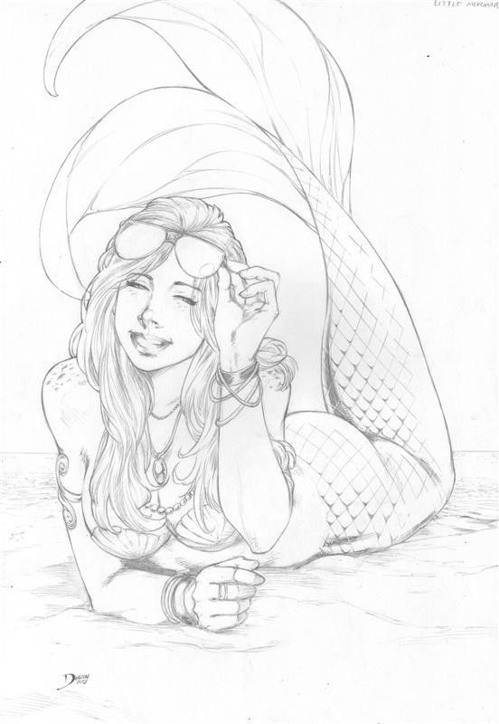 Mermaid by Deilson.deviantart