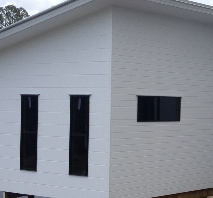 Weathertex EcoGroove 150mm and 300mm Plank Cladding | Jacob Peter McKenna Licensed Builder.