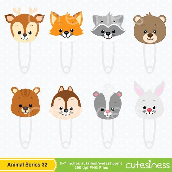 Woodland Baby Animals Clipart Forest Animal Clipart Etsy Baby Clip Art Baby Animals Animal Clipart