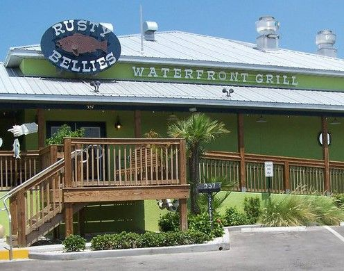 Rusty Bellies Waterfront Grill 937 Dodecanese Blvd Tarpon Springs Fl We Love This Restaurant