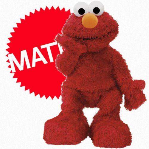 Elmo Live Mattel