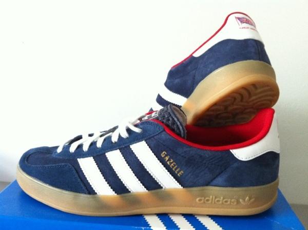 Adidas Gazelle Indoor On Feet