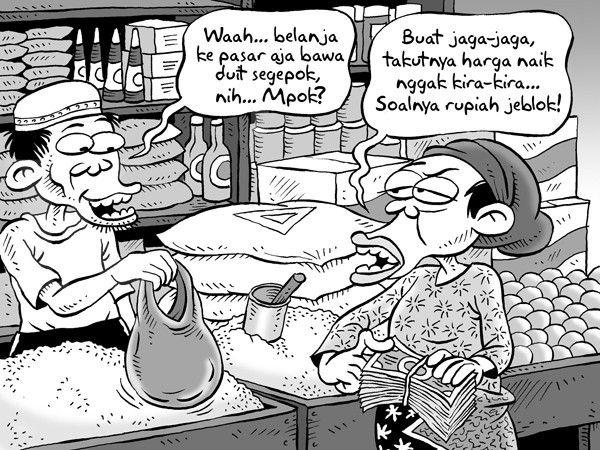 Kartun Benny, Kontan - September 2015: Bawa Duit Lebih