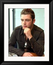Mark Feehily Westlife Pop Group, at Daily Record Newspaper Office, September 2002 Impressão fotográfica na AllPosters.pt