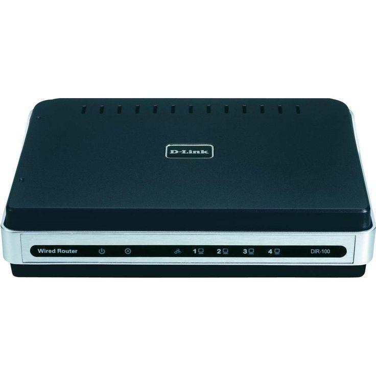 LAN-Router mit Modem D-Link DIR-100 Integriertes Modem: ADSL 100 MBit/s