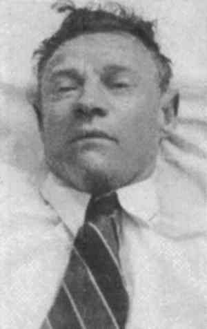 "On December 1, 1948 a body was found lying on Adelaide's Somerton Beach. All the labels were missing from his clothing, he had no identification and his dental records did not match any known person. A piece of paper with the printed words ""Tamam Shud"" on it was discovered in a secret pocket concealed within the dead man's trousers. The scrap was traced to a rare edition of a book entitled The Rubaiyat of Omar Khayyam, a code was on the back. The case was never solved."
