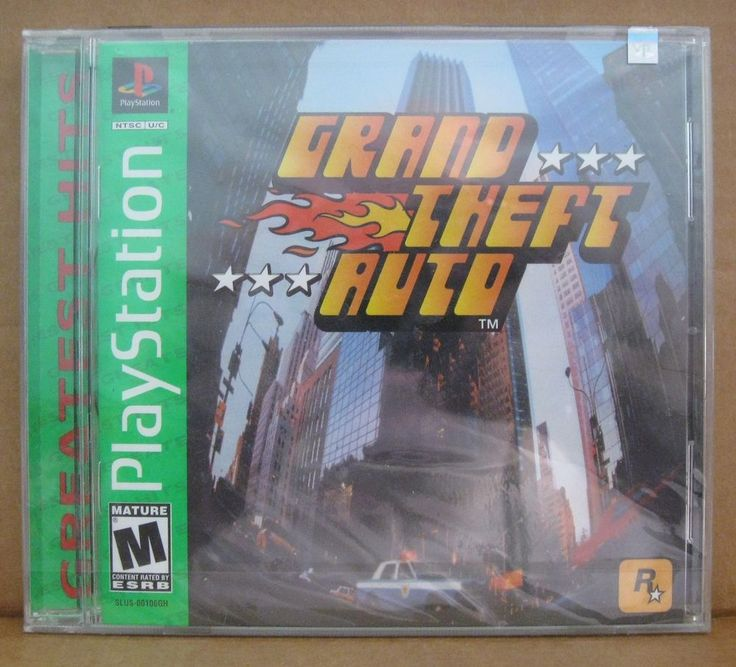 PlayStation - Grand Theft Auto Brand New & Factory Sealed RARE Original Game