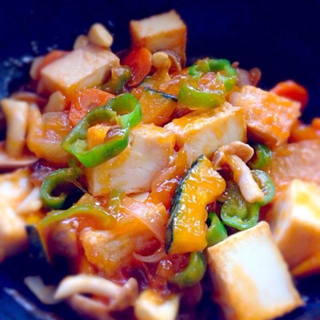 さっぱりしたのが食べたかったから(^^) - 8件のもぐもぐ - 野菜たっぷり厚揚げの酢豚 by マキ