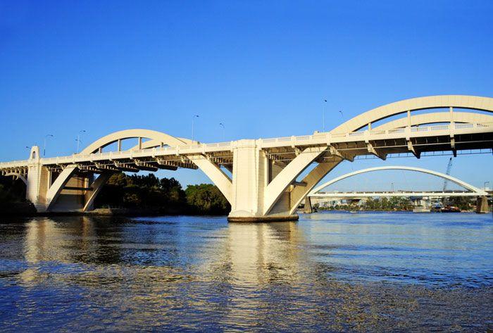 William Jolly Bridge, Brisbane, Australia http://www.westenddenture.com.au/