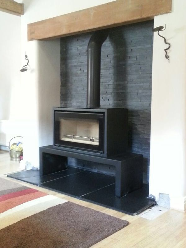 25 Best Ideas About Slate Hearth On Pinterest Log Burner Fireplace Log Burner And Wood Burner