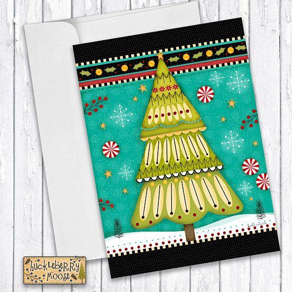 Christmas Cards Christmas Tree Christmas Stationery Holiday