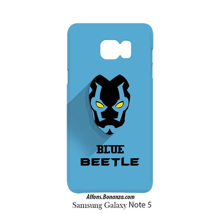 Blue Beetle Superhero Samsung Galaxy Note 5 Hardshell