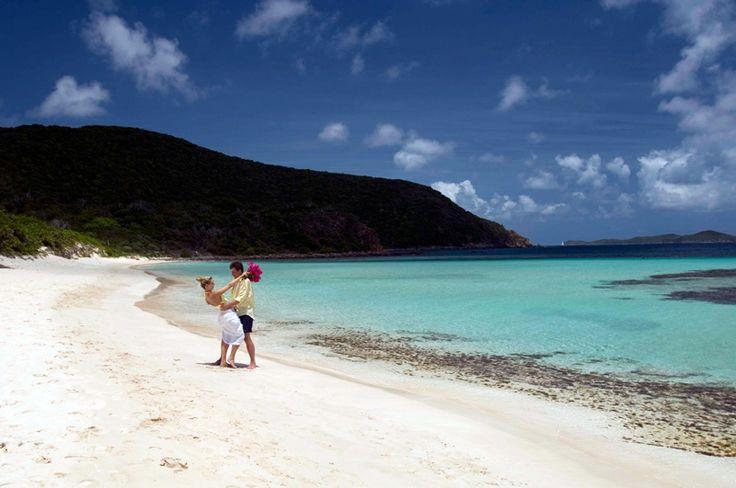 Isole Vergini Britanniche #spiaggia #love #Caraibi #BVI #coppia #matrimonio