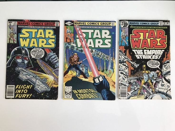 Job lot of 3 Star Wars comics from the 70s, see pictures for a better detail of the condition if you need more pics just send me a message I'd be happy too! Grab your own piece of history today! | eBay!