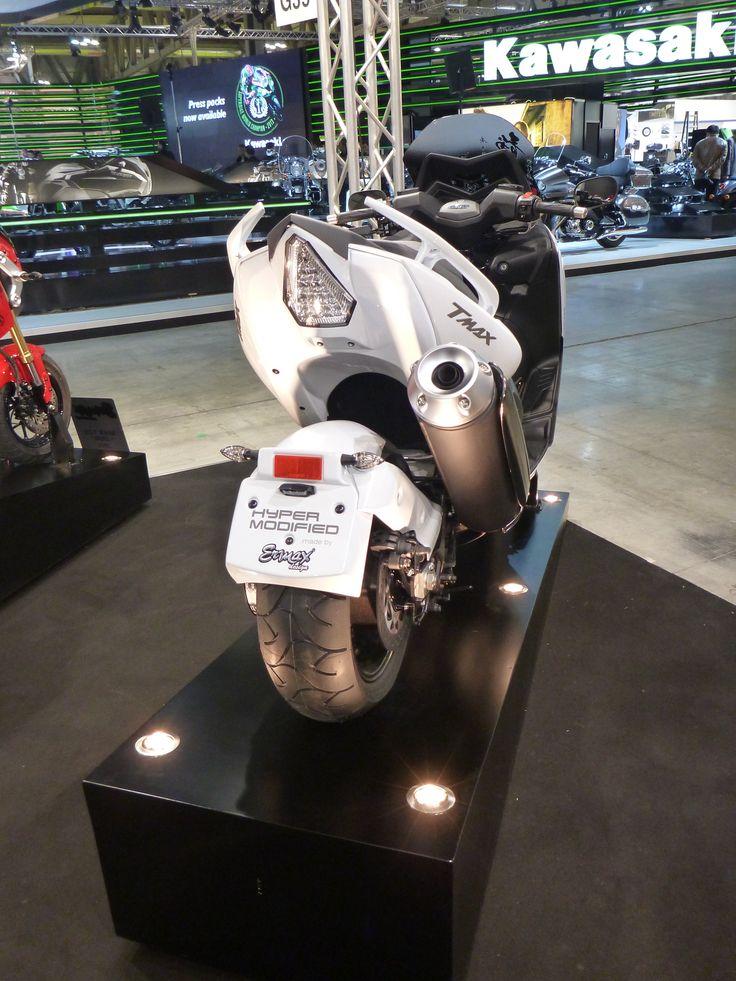 """530 Tmax """"Lazareth"""" rear view at Eicma Milano"""